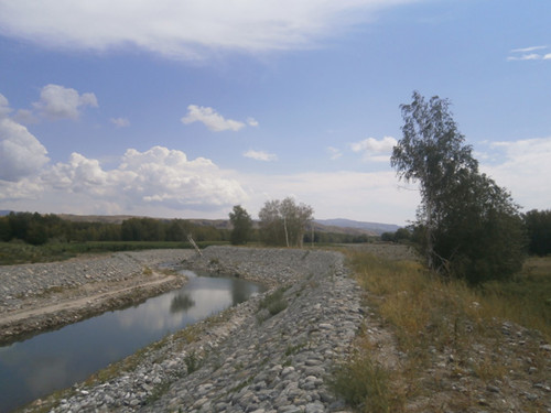 黑流滩河防洪工程水土保持监测、监理、评估验收